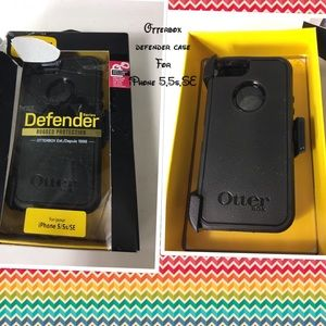 Otterbox defender case for iPhone 5, 5s, SE